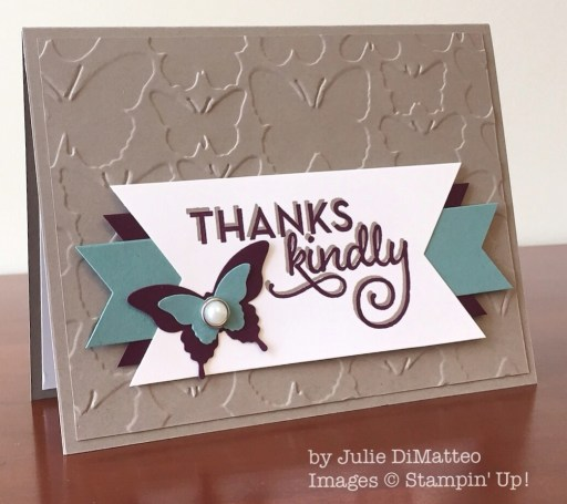 One Big Meaning, Stampin' Up!, by Julie DiMatteo