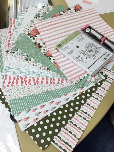 Birthday Blooms, Birthday Bouquet Designer Series Paper, Stampin' Up!