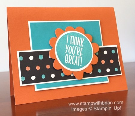 I Think You're Great, Stampin' Up!, Brian King, FabFri75
