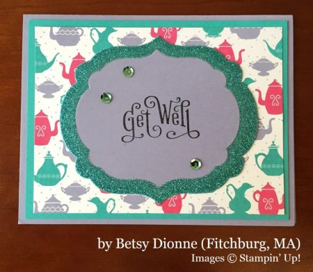 Betsy Dionne, Fitchburg MA, Stampin' Up!, card swap