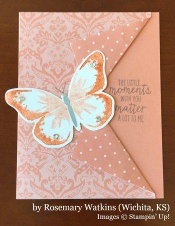 Rosemary Watkins, Wichita KS, Stampin' Up!, card swap