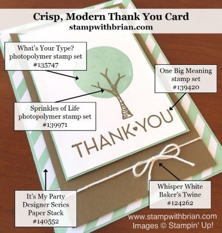 Sprinkles of Life, What's Your Type, One Big Meaning, Stampin' Up!, Brian King, GDP031