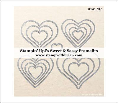 Sweet & Sassy Framelits, Stampin' Up!