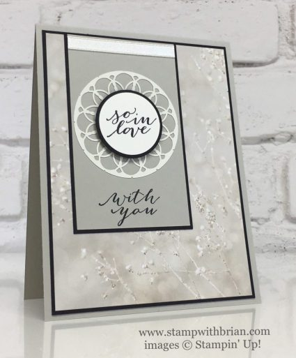 So In Love, Lace Doilies, Falling in Love Designer Series Paper, Stampin' Up!, Brian King, GDP074