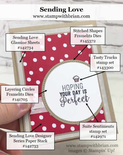 Suite Sentiments, Tasty Trucks, Sending Love Designer Series Paper Stack, Stampin' Up!, Brian King