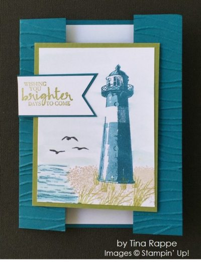by Tina Rappe, Stampin' Up! swap, thinking of you card