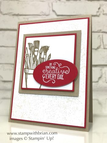 Crafting Forever, Stampin' Up!, Touches of Texture, Brian King