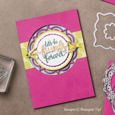 Eastern Medallions card, Stampin' Up!