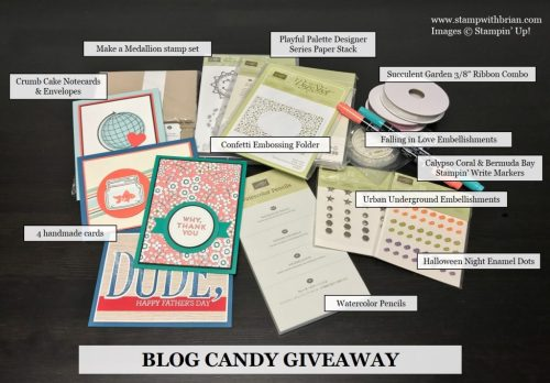 Blog Candy Giveaway, Brian King