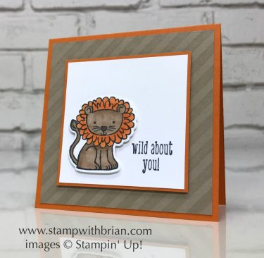 A Little Wild, Little Loves Framelits, Stampin' Up!, Brian King