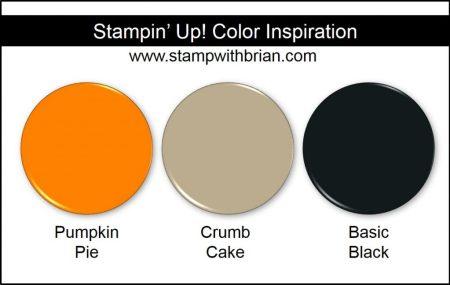 Stampin' Up! Color Inspiration: Pumpkin Pie, Crumb Cake, Basic Black