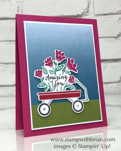 Grown with Love, Stampin' Up!, Brian King, GDP091