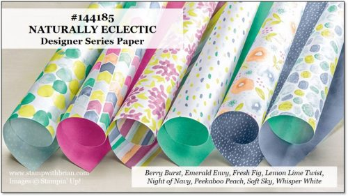Naturally Eclectic Designer Series Paper, Stampin' Up!