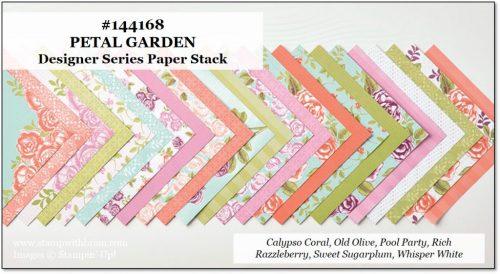 Petal Garden Designer Series Paper Stack, Stampin' Up!