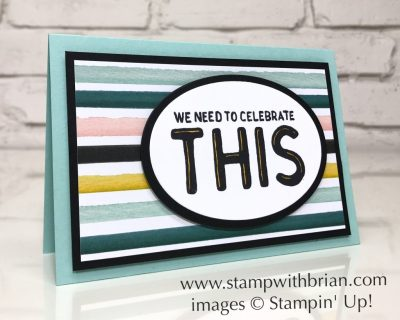 Great Big Greetings, Whole Lot of Lovely Designer Series Paper, Stampin' Up!, Brian King