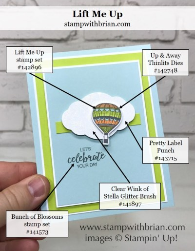 Lift Me Up, Bunch of Blossoms, Stampin' Up!, Brian King, CTS231