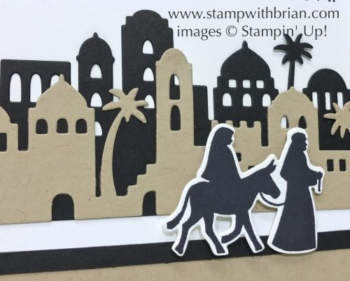 Night in Bethlehem, Stampin' Up!, Brian King