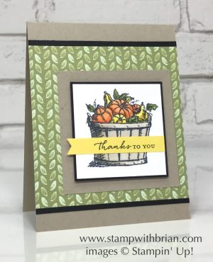 Basket of Wishes, Floral Phrases, Stampin' Up!, Brian King