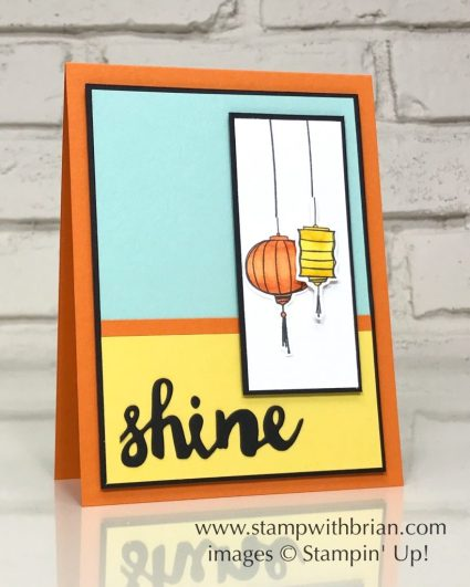 Color Me Happy, Sunshine Wishes Thinlits Dies, Stampin' Up!, Brian King