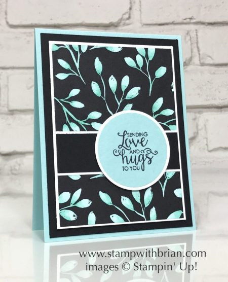 Ribbon of Courage, Merry Little Christmas Designer Series Paper, Stampin' Blends, Stamin' Up!, Brian King