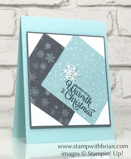 Snowflake Sentiments, Christmas Around the World Designer Series Paper, Stampin' Up!, Brian King, CTS244