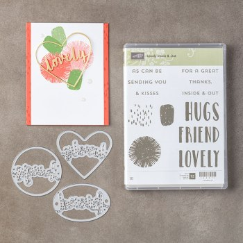 Lovely Inside & Out Bundle, Stampin' Up! 145324