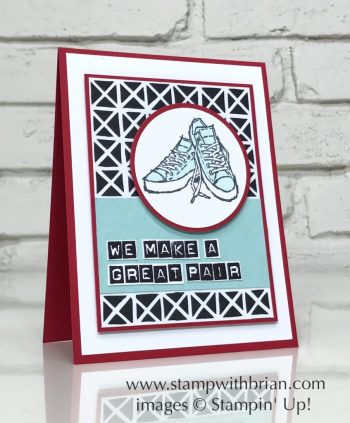 Epic Celebrations, Labeler Alphabet, Stampin' Up!, Brian King, Valentine's Day card
