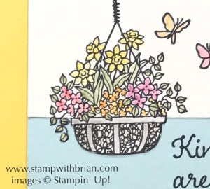 Hanging Garden, Stampin' Up!, Brian King