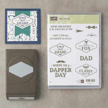 Truly Tailored Bundle, Stampin' Up! 147752