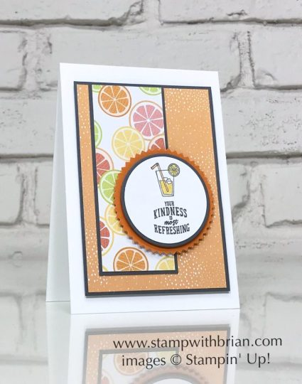 A Good Day, Bubble Over, Stampin' Up!, Brian King, CTS259