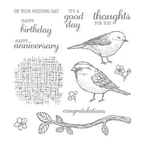 Best Birds, Stampin' Up! 141525