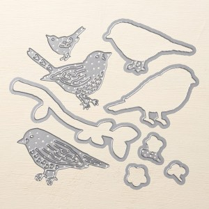 Birds & Blooms Thinlits, Stampin' Up! 141477
