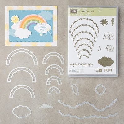 Rainbows & Sunshine Bundle, Stampin' Up! 145983
