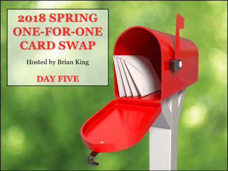 12 Gorgeous Spring Cards, 2018 Spring One-for-One Card Swap Day Five