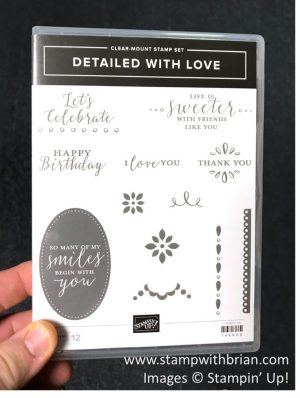 Detailed with Love, Stampin' Up!, 146606