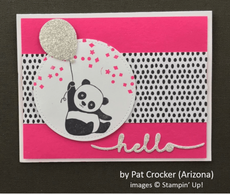 by Pat Crocker, Stampin' Up!, Spring One-for-One Card Swap
