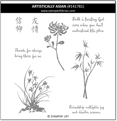 Artistically Asian, Stampin' Up!, 141781