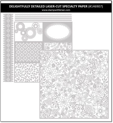 Delightfully Detailed Laser-Cut Speciatly Paper, Stampin' Up!, 146907