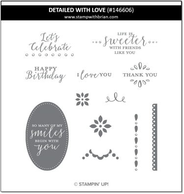 Detailed wth Love, Stampin' Up!, 146606