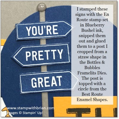En Route, Notes of Kindness Card Kit, Best Route Designer Series Paper, Stampin' Up!, Brian King, thank you card
