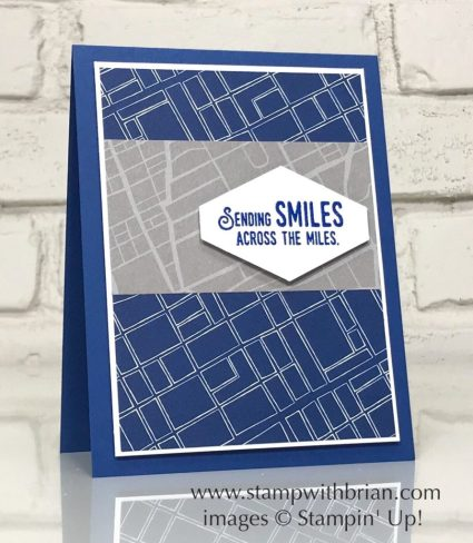 Lift Me Up, Best Route Designer Series Paper, Stampin' Up!, Brian King