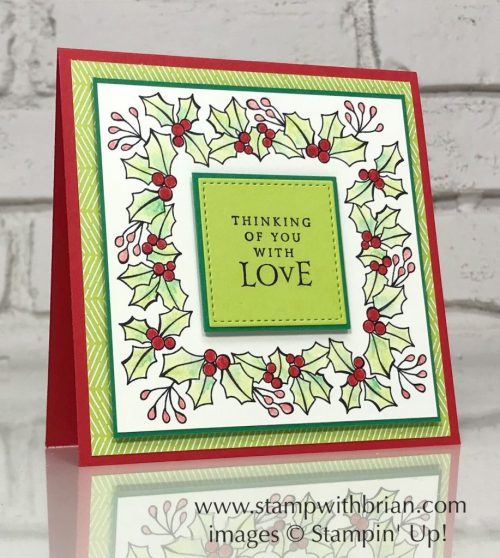 Blended Seasons, Beautiful Blizzard, Stampin' Up!, Brian King