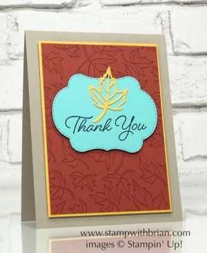 Blended Seasons, Stampin' Up!, Brian King