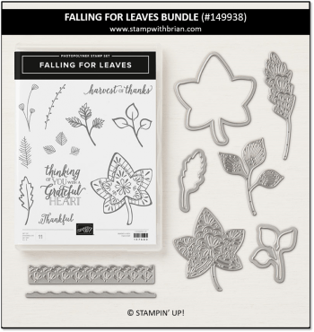 Falling for Leaves Bundle, Stampin' Up! 149938