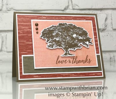 Rooted in Nature, Tropical Chic, Stampin' Up!, Brian King, GDP154