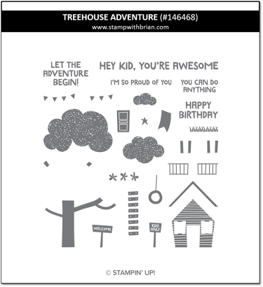 Treehouse Adventure, Stampin' Up! 146468