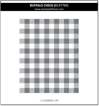 Buffalo Check, Stampin' Up! 147794