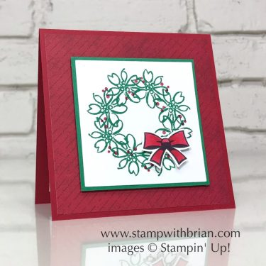 Feathers & Frost, Candy Cane Season, Stampin' Up!, Brian King