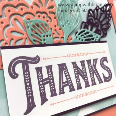 Warm Hearted, Falling for Leaves, Stampin' Up!, Brian King
