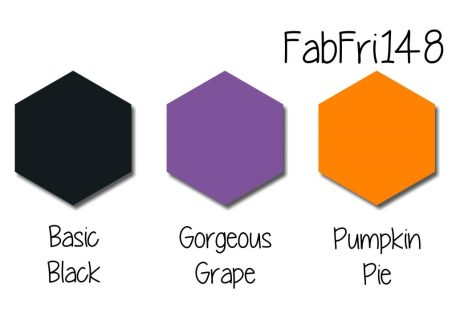Stampin' Up! Color Inpsiration: Basic Black, Gorgeous Grape, Pumpkin Pie
